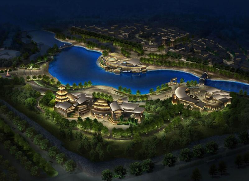 贵州鲁屯古镇景观亮化