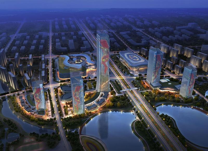吉安五指峰建筑群A2地块项目